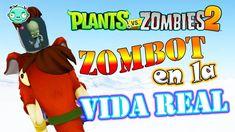 Dr. Zombie en la Vida Real - Zombot   Plants vs Zombies 2 - Cuevas Conge... Plants Vs Zombies 2, Zombie 2, Youtube, Real Life, Youtubers, Youtube Movies