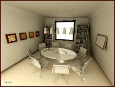meeting room round table