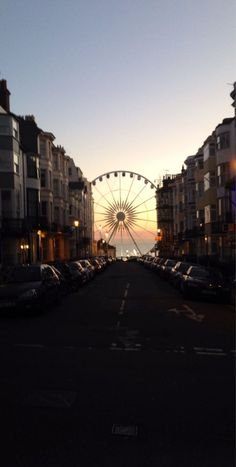 Brighton Wheel, Brighton, England — by Eat Sleep Shoot Travel. Loving this view from the street of the Brighton Wheel , UK Brighton City, Brighton England, Brighton And Hove, Brighton Sussex, Brighton Photography, Travel Photography, Places To Travel, Places To Visit, London Dreams