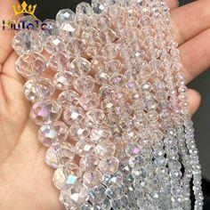 Perles Rondelle en cristal de verre clair à facettes AB perles en vrac pour la fabrication de bijoux bracelets à faire soi même collier brins 4/6/8/10/12/14mm,Profitez de super offres, de la livraison gratuite, de la protection de l'acheteur et d'un retour simple des colis lorsque vous achetez en Chine et dans le monde entier ! Appréciez✓Transport maritime gratuit dans le monde entier ✓Vente à durée limitée✓Facile à rendre