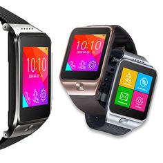 Indigi SWAP (Smart Watch And Phone) 2-in-1 GSM Wireless   Bluetooth Interconvertible SmartWatch - GSM Unlocked - (Silver) -- You can get additional details at the image link. (This is an affiliate link) #SmartWatches