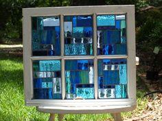 "From the ""Blue Garden"" on Flea Market Gardening"