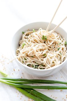 This quick and easy recipe for cold sesame soba noodles is a great option for a healthy grab-and-go lunch. And it is vegetarian, to boot!
