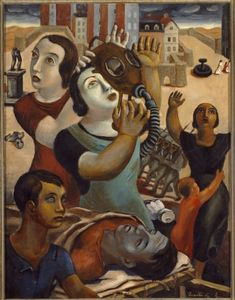 Alegoría de la Guerra. / Isaías Cabezón .