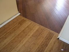 how to connect 2 different wood floors - Google Search