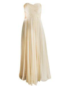 Gathered Print Maxi - BARIANO SPRING 2011 : Dresses-Bridesmaid : Bariano - Fashion Designer Australia