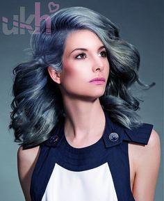 Petra Mechurova Long Grey Hairstyles