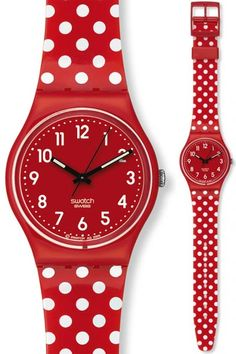 Swatch - Berry Dots