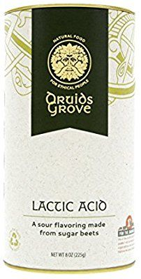 Amazon.com : Druids Grove Lactic Acid ☮ Vegan ⊘ Non-GMO ❤ Gluten-Free ✡ OU Kosher Certified - 8 oz. : Grocery & Gourmet Food