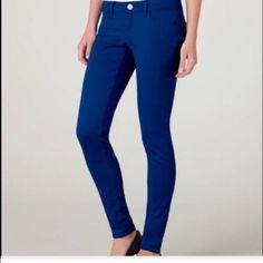 Royal blue American Eagle skinny jeans Dark royal blue skinny jeans a76057756