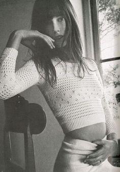Jane Birkin photographed by Alex Chatelain for Vogue Paris, June 1970