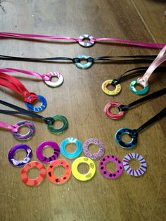 Washer jewelry....serviceproject??
