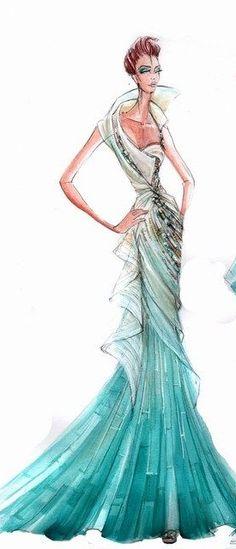 Blanka Matragi Fashion Ilustration