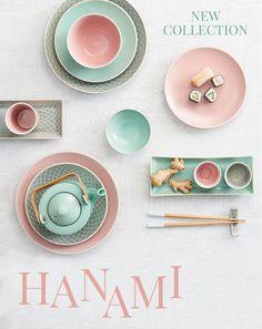 Hanami Geschirr für Sushi von Butlers
