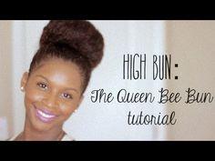 The High Bun: Queen Bee Bun Tutorial