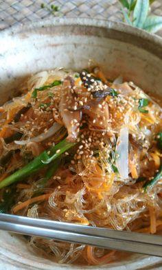 韓国仕込みの❀チャプチェ by gogelhopf [クックパッド] 簡単おいしいみんなのレシピが219万品
