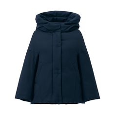 Navy down jacket by Uniqlo