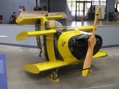 The Robert Starr Bumble Bee II, the worlds smallest piloted aircraft