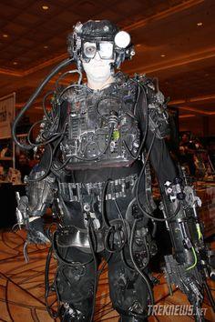 Borg cosplay & Prop Borg arm   Borg Cosplay 2012   Pinterest   Star trek Trek and ...