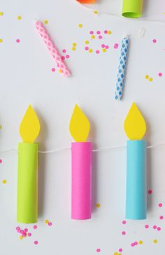 DIY:+Birthday+Candle+Garland+by+AliceandLois+for+Julep