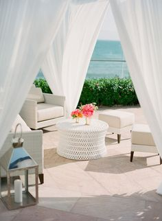 beachy wedding cocktail hour http://itgirlweddings.com/nautical-wedding-weekend-welcome-party/