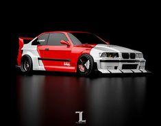 Bmw E36 Touring, Bmw E36 Drift, Bmw Series, Tuner Cars, Car Wrap, Bmw Cars, Bmw M3, Custom Cars, Concept Cars