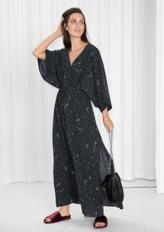 & Other Stories | Starry Sky Print Dress