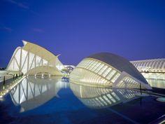 La Ciudad de las Artes y las Ciencias, Valencia, Spain