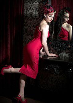 "Red ""Ava"" Dress"