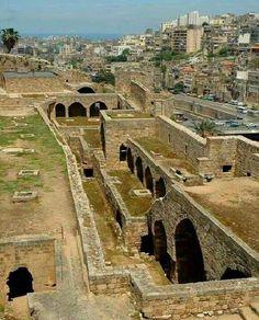 St. Gilles crusader castle, Tripoli - Lebanon