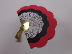 Check out the step-by-step instructions to make a fan card -- great for a Spanish-theme party!  Of all of the pins I've posted myself, this one is the most popular!  Thanks!