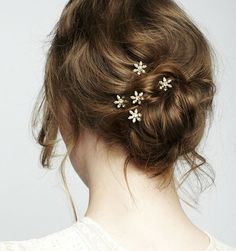 New Wedding Hairstyles To Try. To see more: http://www.modwedding.com/2014/06/02/new-wedding-hairstyles-inspiration/ #wedding #weddings #hair #hairstyle #fashion Wedding Hairstyle via Jennifer Behr