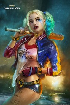 Harley Quinn - Batman DC Comics by Shannon-Maer on DeviantArt