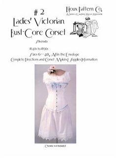 Ladies' Victorian Bust-Gore Corset Pattern