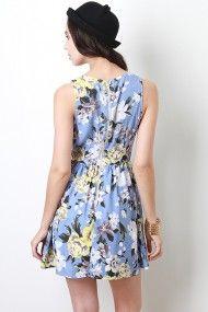 Golden Peony Dress