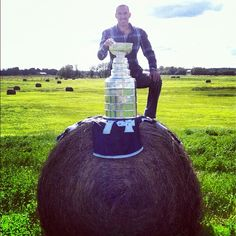 Dwight King up early on the farm in Meadow Lake, SK