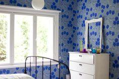 Vihreä talo - sisustusblogi: makuuhuone Decor, Cottage, Interior, Home Decor Decals, Wallpaper, Wall, Home Decor, Summer Cottage