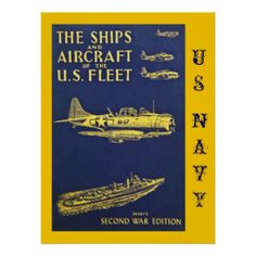 WWII Ships & Aircraft Poster