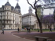 Buenos Aires, Argentina...sunbathed in this park!! No beaches in BA.