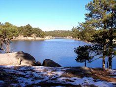 sancarlosfortin: lago  arareko cerca de creel en chihuahua mexico
