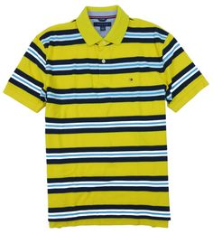 Tommy Hilfiger Men's Millford Polo Shirt - Available in a variety of colors and sizes. #GreatSkyGifts