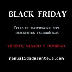 Black Friday telas patchwork