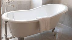 Refresh your bathroom with a new bath tub - Mitre 10 Cast Iron Bathtub, Clawfoot Bathtub, Bath Tub, Image House, Home Projects, Cool Photos, It Cast, Bathroom, Bathtub Reglazing