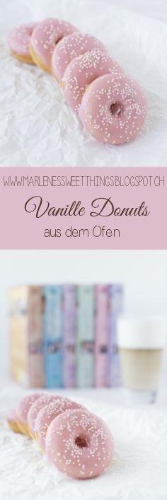 Oven Vanilla Donut - Vanille Donut aus dem Ofen