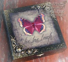 LIVE LOVE LAUGH heirloom altered art jewelry by TheVictorianGarden, $42.00 wow this is gorgeous....