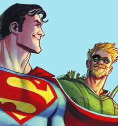➦Can we skip to the part where you tell me I used to be an a-hole? Clark Kent & Oliver Queen in Green Arrow 028✷➦Justice League ➦✷