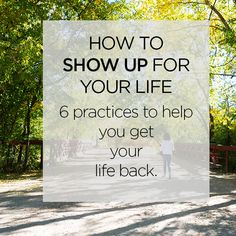 Get your life back by putting the phone down, creating a morning routine, an four other practices. Put The Phone Down, Declutter Your Mind, Be Gentle With Yourself, You Are Important, Get Your Life, Show Up, Back On Track, Do You Remember, Feeling Overwhelmed