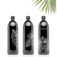 Not only are these beautifully decorated, when you fill them with water and place them in the morning sunlight, they energise the water to taste spectacular. #mironglass #waterbottles #biophotonic #muktiorganics #glassbottle #botanicals #botanicalillustration