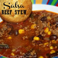 Salsa Beef Stew