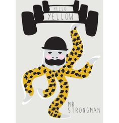 Strongman Octopus | Hello Yellow
